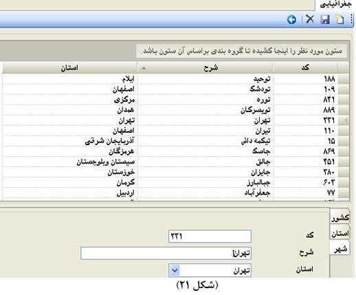 اسامی کشور، استان و شهرها
