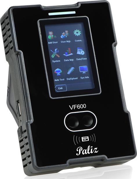 تنظیمات دستگاه حضور و غیاب Vf600