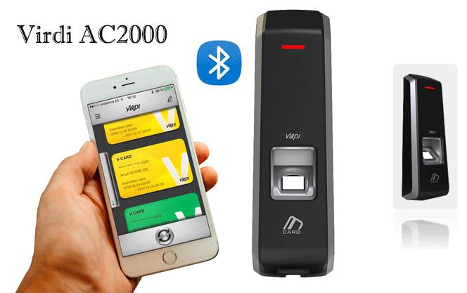 دستگاه کنترل تردد virdi ac2000 پالیزافزار