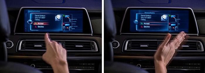 استفاده از سیستم تشخیص ژست در خودرو