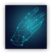 تکنولوژی بیومتریک شناسایی کف دست