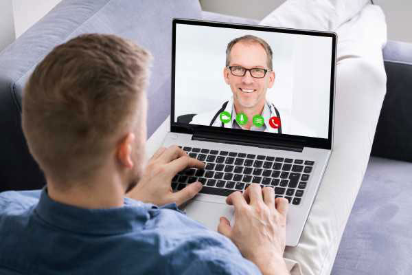 ویزیت آنلاین پزشک  با تایید هویت تشخیص چهره