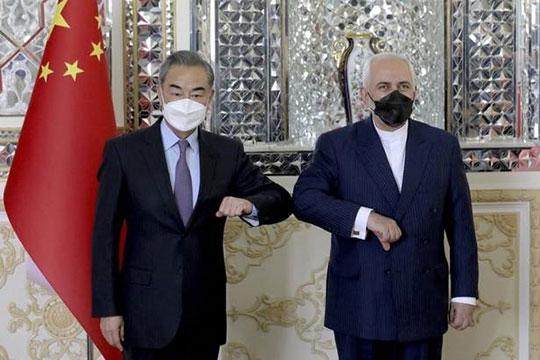 مشارکت همکاری وزاری خارجه ایران و چین