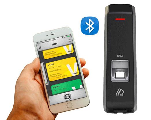 دستگاه اکسس کنترل اثر انگشتی RFID AC2000