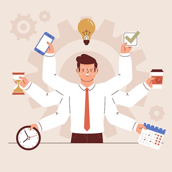 راهکار های طلایی برای مدیریت زمان در محل کار