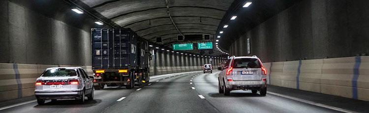 کنترل هوای تونل های سوئد با برچسب های RFID