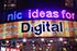 تابلو تبلیغاتی دیجیتال خطی